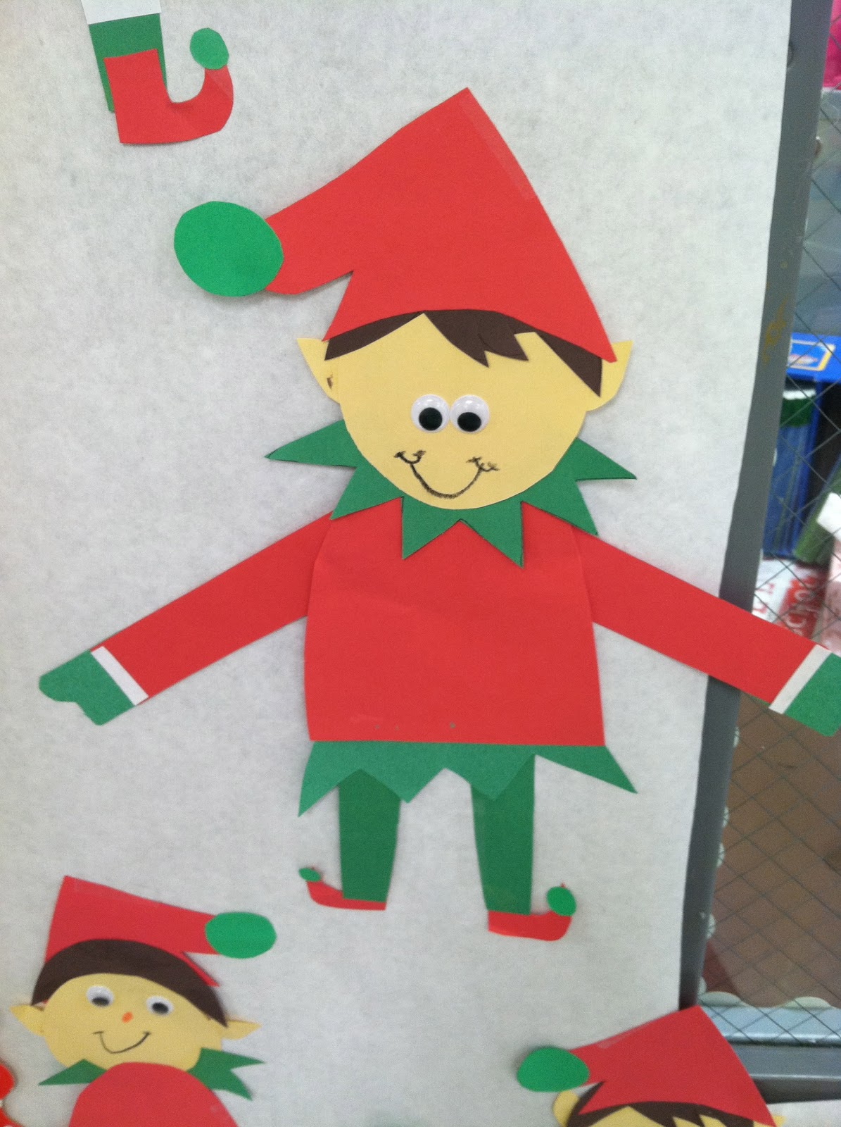 Life in First Grade: Elf Patterns!