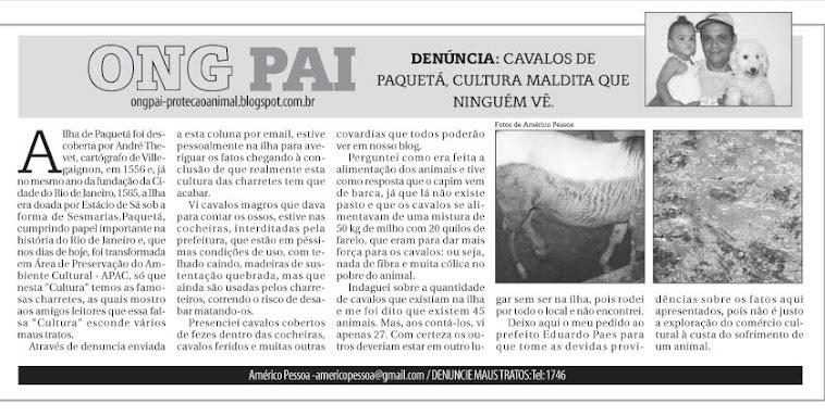 Cavalos de Paqueta