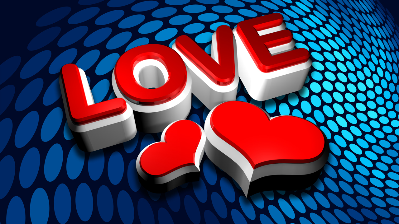 3d Red I Love You Images in HD