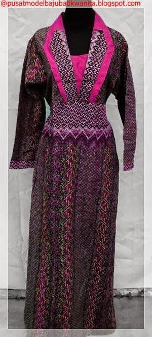 Model baju batik wanita terbaru 2013 2014 gambar model Gambar baju gamis pesta 2014
