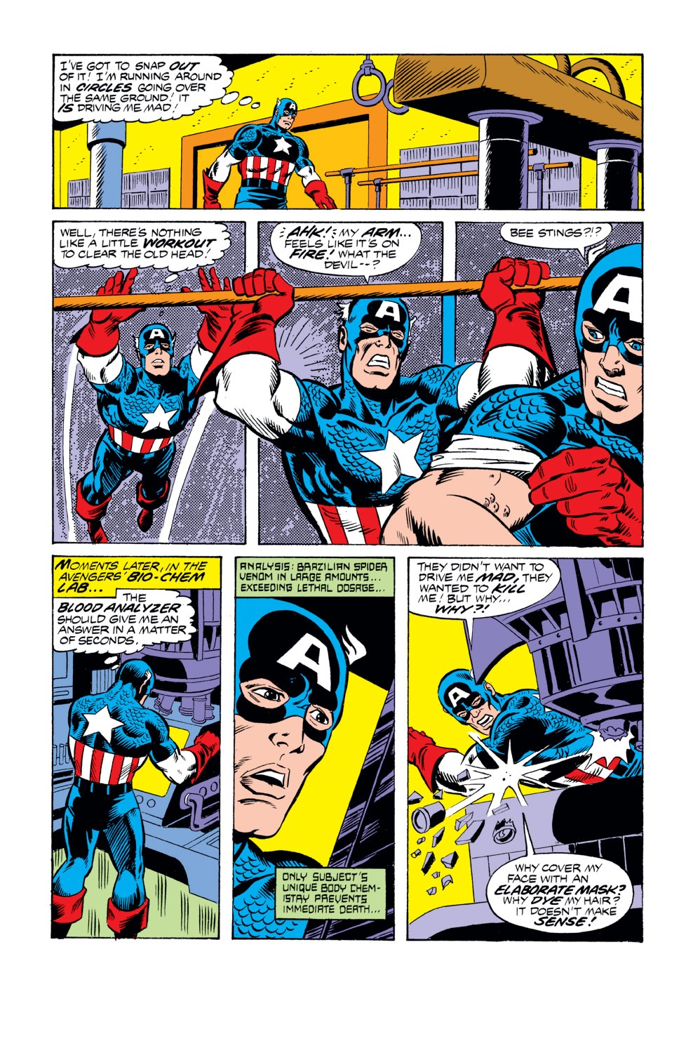 Captain America (1968) Issue #224 #138 - English 9