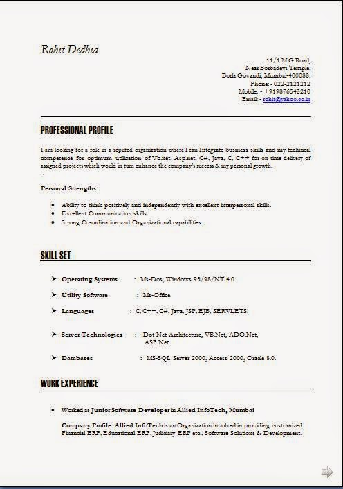 business objectives examples for resume