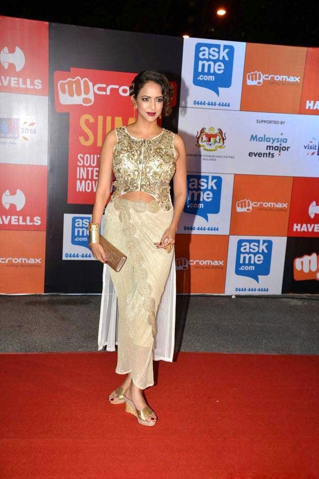 Manchu Lakshmi At SIIMA Awards 2014