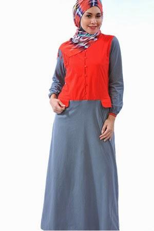 Model baju hamil muslimah untuk wanita muda trendy