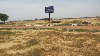 Golf Country, Yamuna Expressway :: Construction Status on July 2014 :-Plotted Development Area