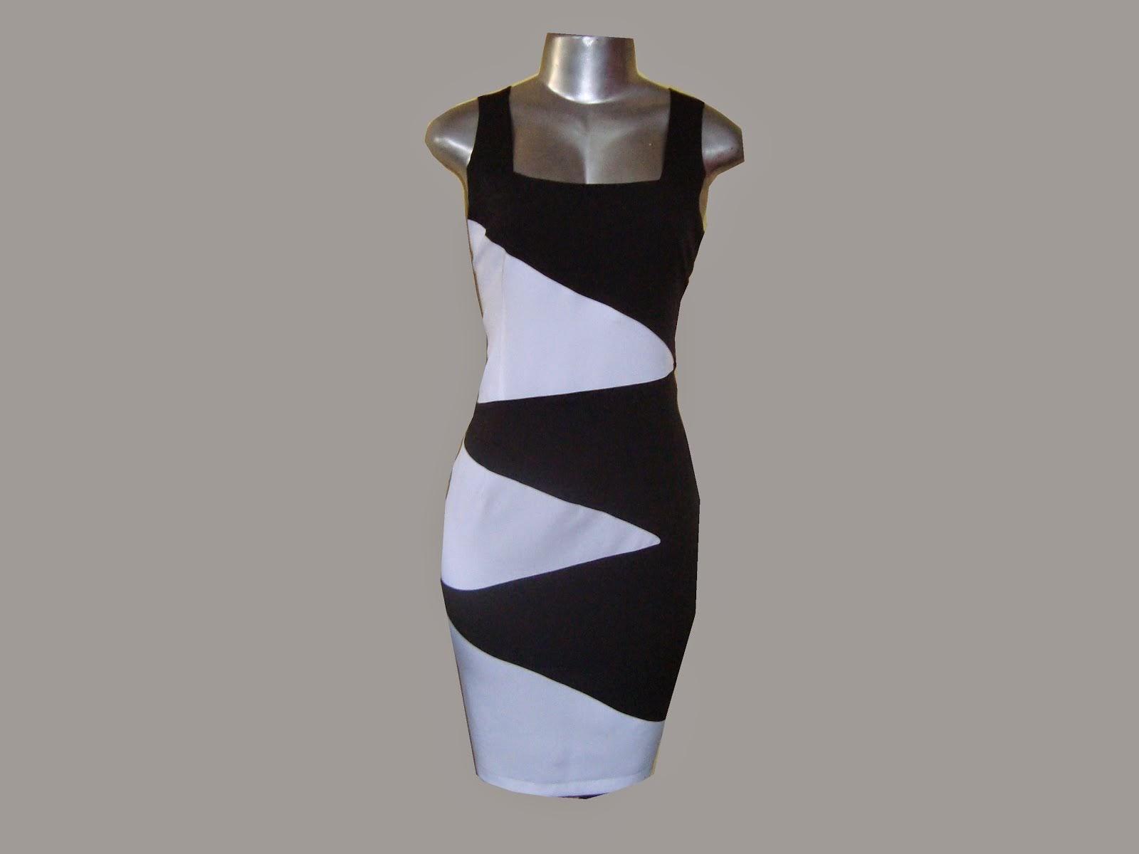 vestido preto e branco de prada
