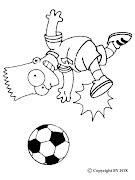 Bart Simpson para dibujar pintar colorear imprimir recortar y pegar (bart simpson para dibujar pintar colorear imprimir recortar pegar )