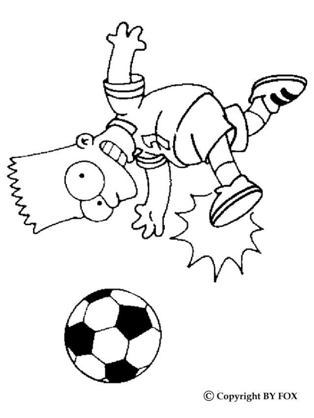 Moderno Amo El Fútbol Para Colorear Colección - Dibujos Para ...