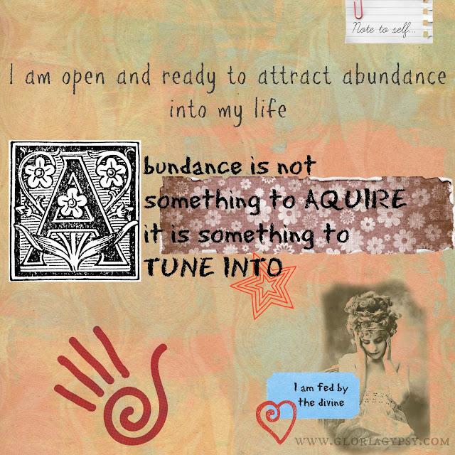 Abundance for Personal Empowerment by Gloria Gypsy
