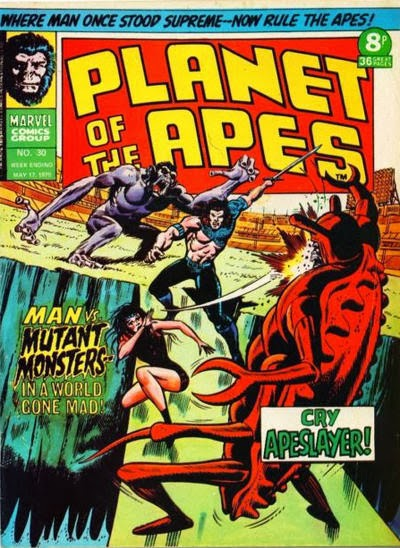 Apeslayer, Planet of the Apes #30