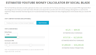 Cara Menghitung Perkiraan Earning Dari Youtube