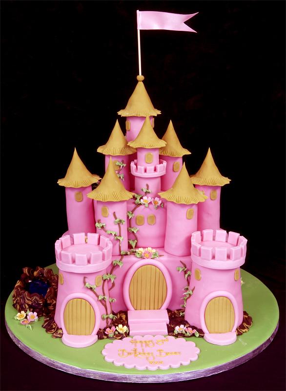 Barbie Castle Cake Images : Fairy Castle Cake on Pinterest Castle Birthday Cakes ...