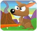 Kanguru chạy trốn thảm họa, game van phong