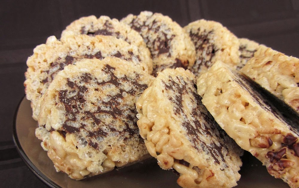 How To Make Chocolate Chip Rice Krispie Squares