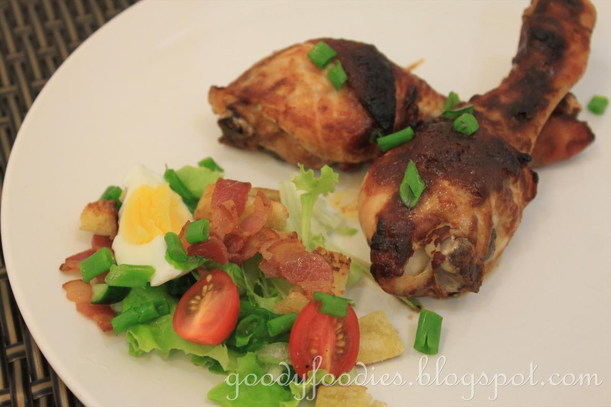 how to cook chicken drumsticks in the oven uk
