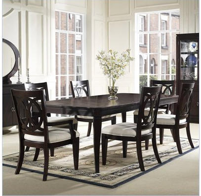 into a formal dining room yet very modern which is very much my style