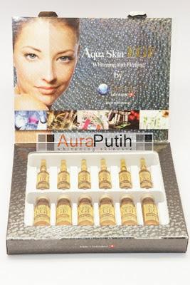 Skinnic Aqua Skin EGF, Aua Skin EGF, Aqua Skin Whitening EGF, Suntik Putih Skinnic, Skinnic Skin Aqua EGF Whitening and Firming