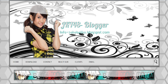 Free Download Template JKT-48