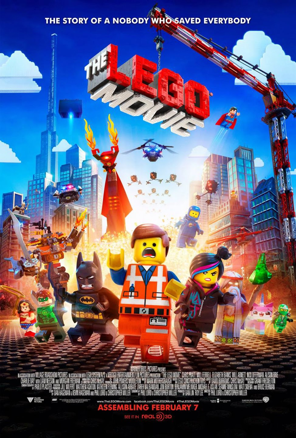 Lego 2014 3D Movie Super Lego Heroes HD Wallpaper