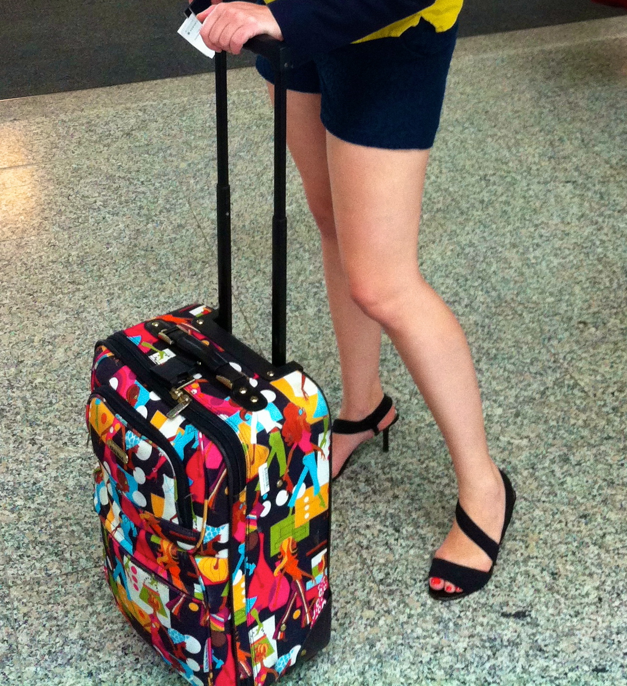 20 Carry On High Heels Suitcase