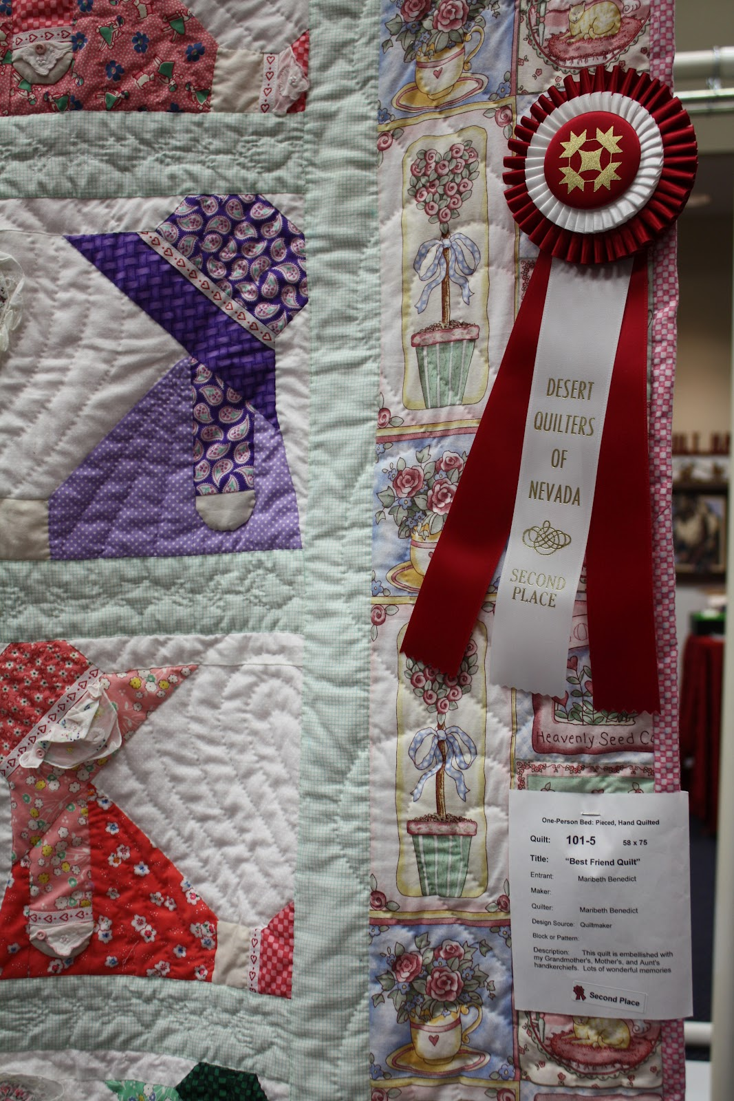 Desert Quilters Of Nevada Fun Quilts 2012 Wendys Hat
