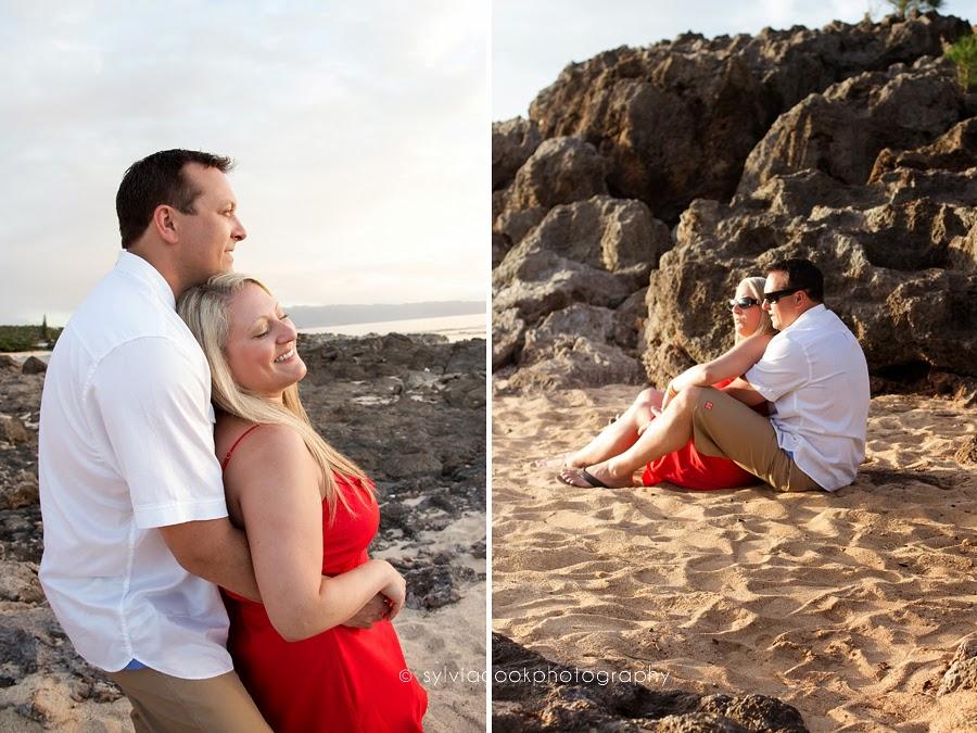 Elsa and Phil Hawaii pre wedding beach day
