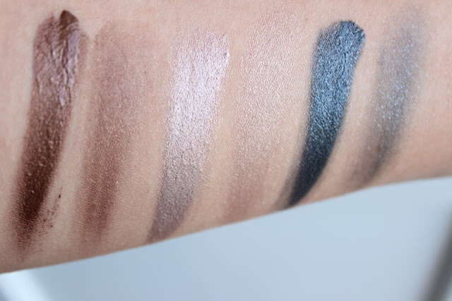 Max Factor Excess Shimmer Eyeshadows Review