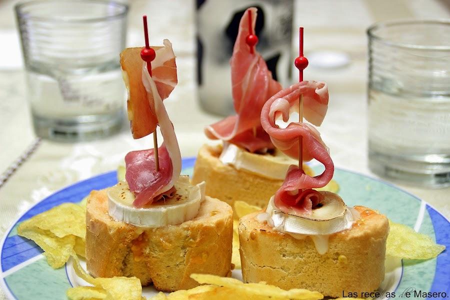 la que tienes con estos veleros de jamn y queso de cabra pincha en el nombre para ver la receta completa de mi blog las recetas de masero