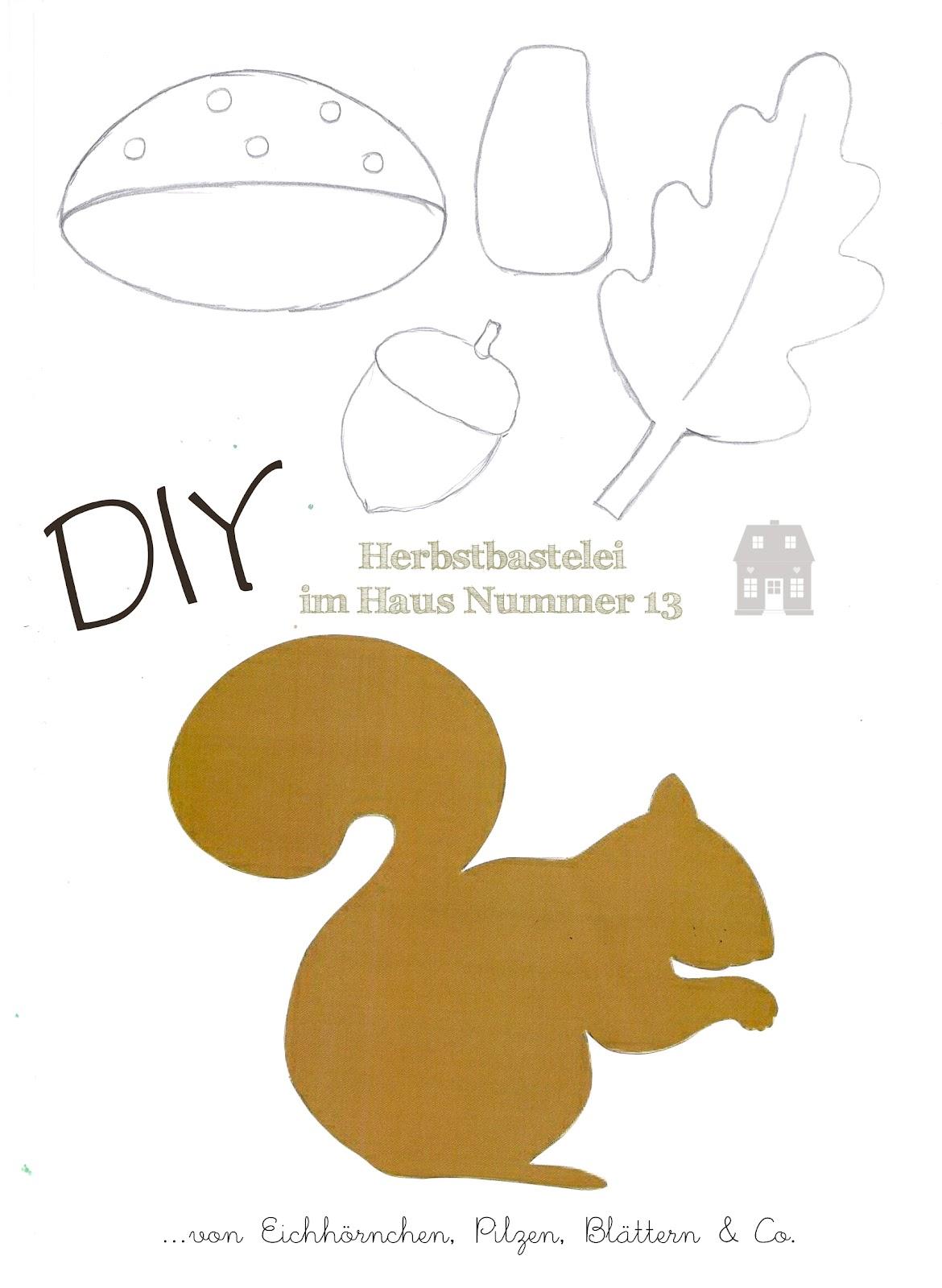 DIY - Herbstbastelei - Haus Nummer 13