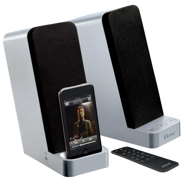 Pc sound system ihome ih70 pc speakers for Ihome speaker