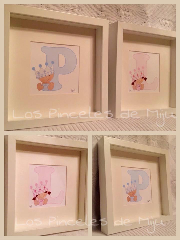 LOS PINCELES DE MIJU | Cuadros infantiles personalizados y ...
