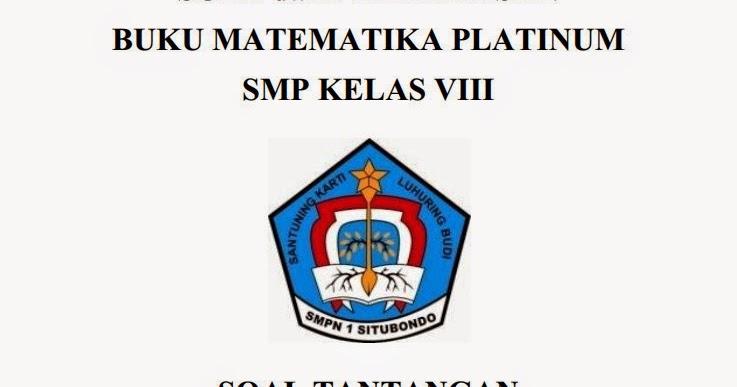 Solusi Soal Buku Platinum Smp Kelas 8 Bab Kubus Dan Balok