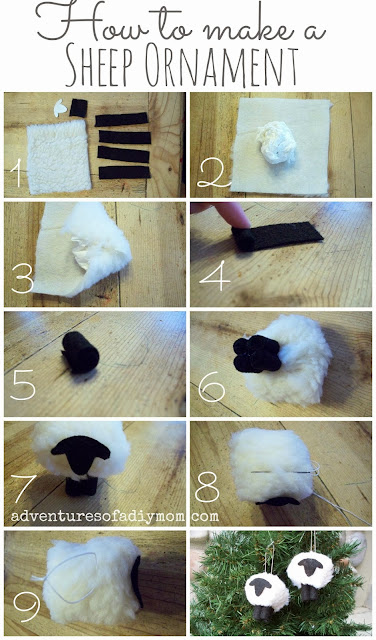 DIY Lamb Ornament