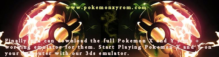 Download Pokemon X and Y + Emulator