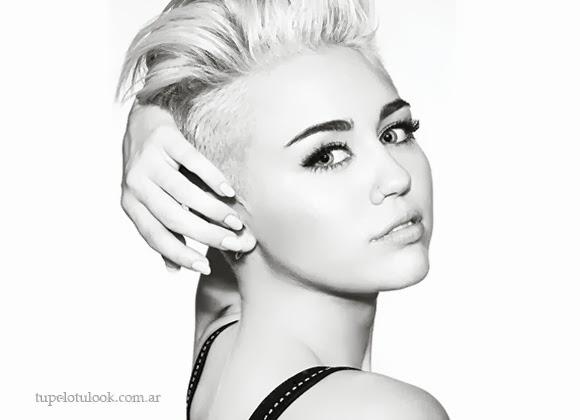 Miley Cyrus cortes de pelo 2014