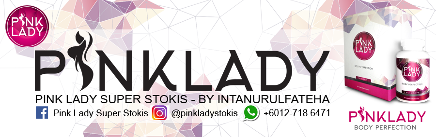 Pink Lady Super Stokis - By Intanurulfateha