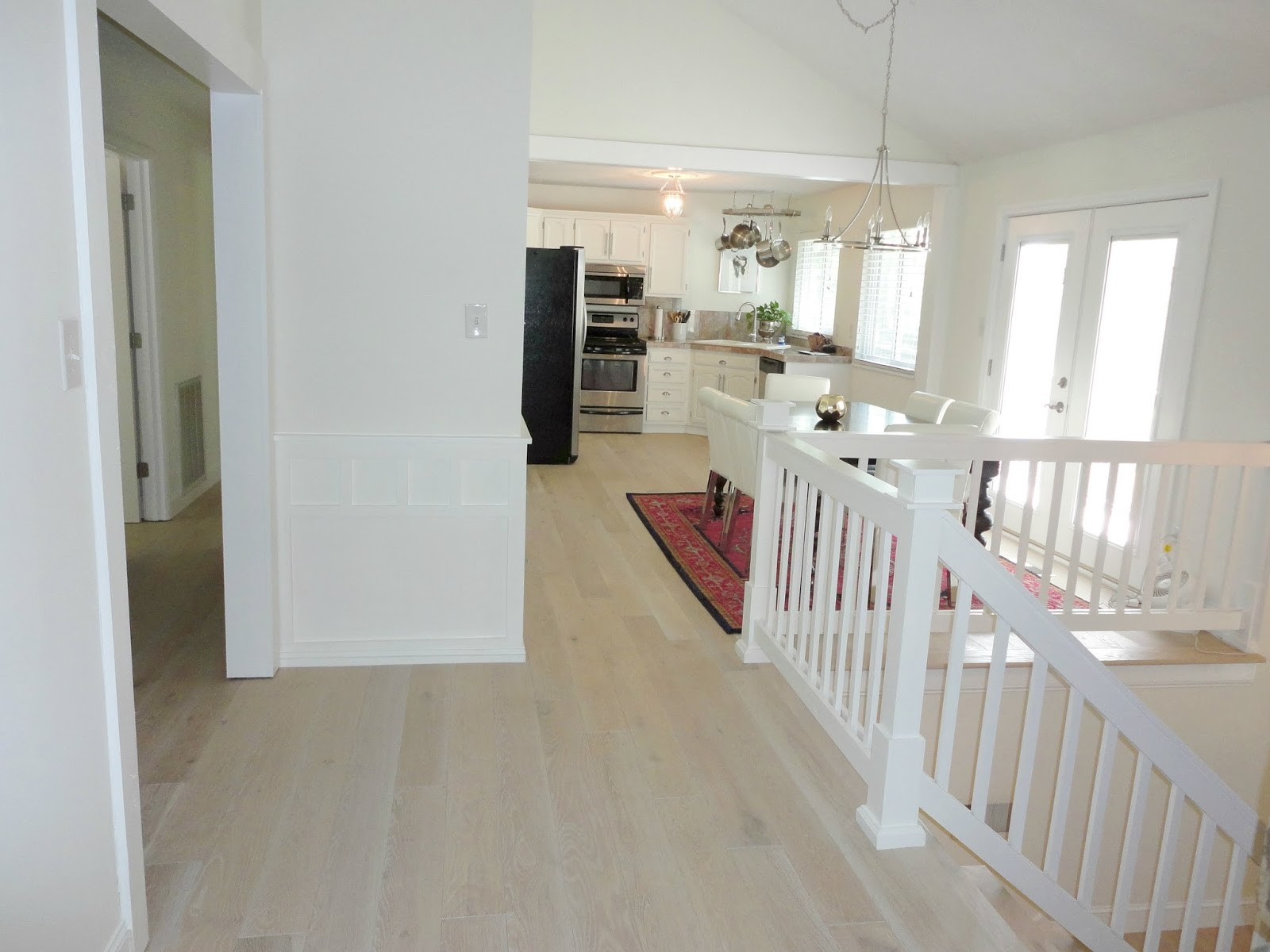 LiveLoveDIY: Our New White Washed Hardwood Flooring (and Why We Had To Rip  Out The Old Ones After Only A Year!)