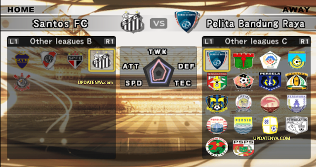 Brazil+ +Indonesia Update PES 6 Musim 2013 2014 September 2013 Terbaru