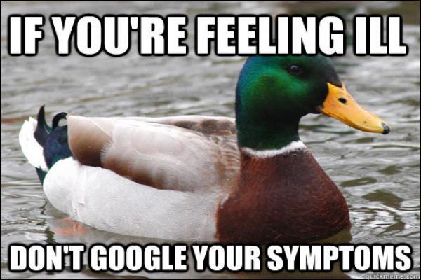 Google Symptomps