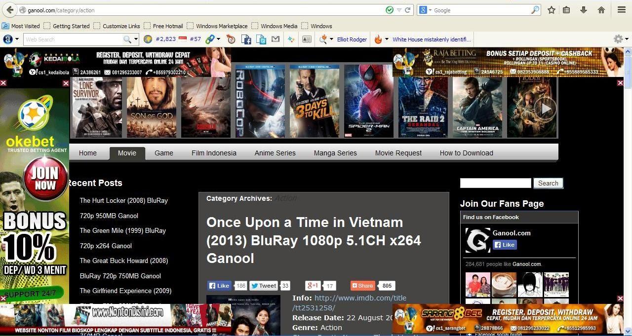 Mana situs ganool yang asli asal ngeblog aja screenshoot situs ganool yang asli reheart Image collections