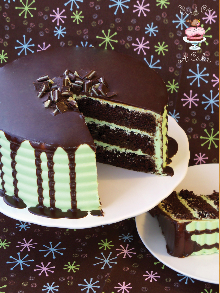 Chocolate Cake With Andes Chips