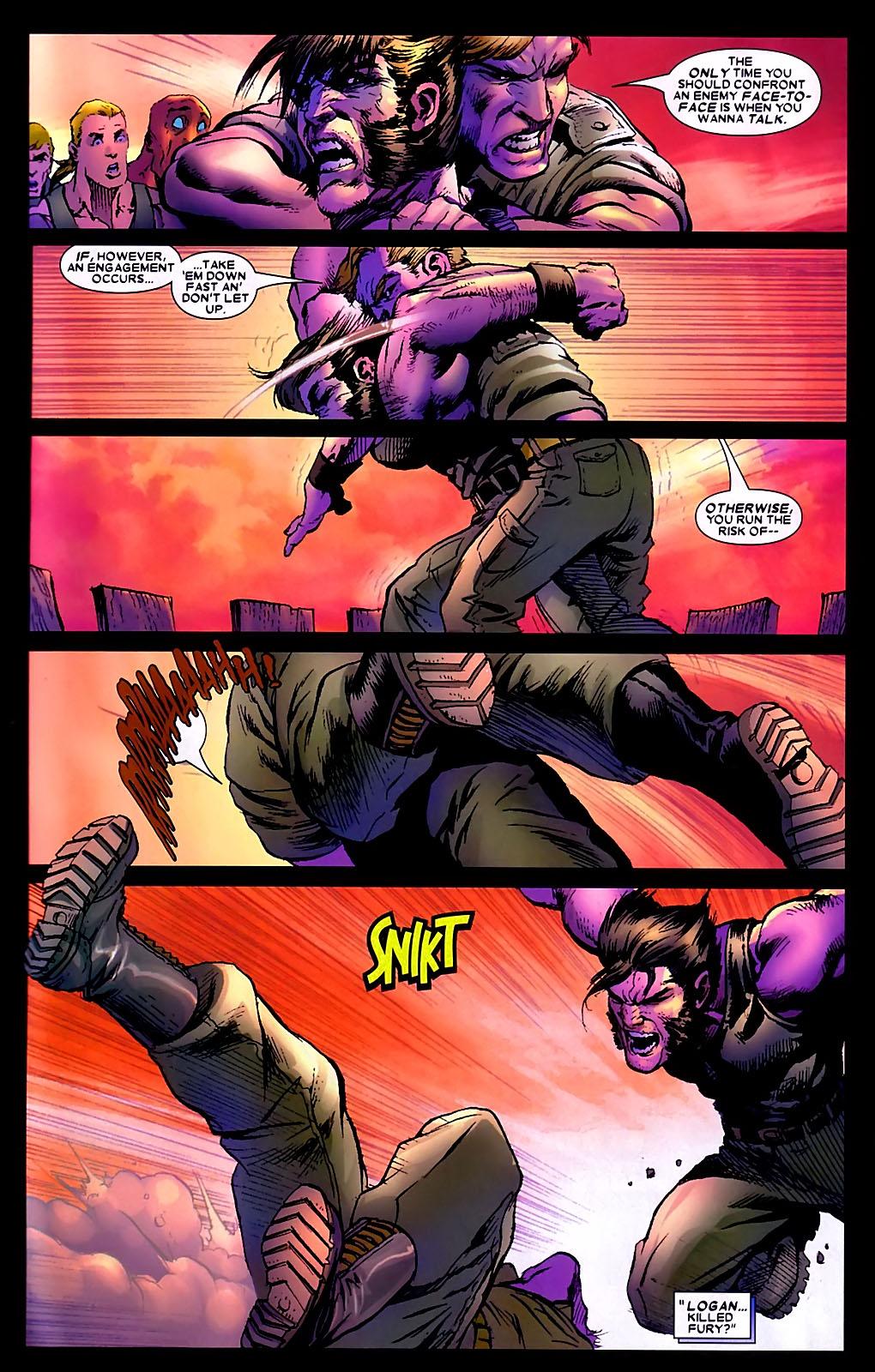 Read online Wolverine (2003) comic -  Issue #34 - 15