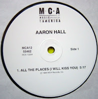 Aaron Hall – All The Places (I Will Kiss You) + Move It Girl (VLS) (1998)