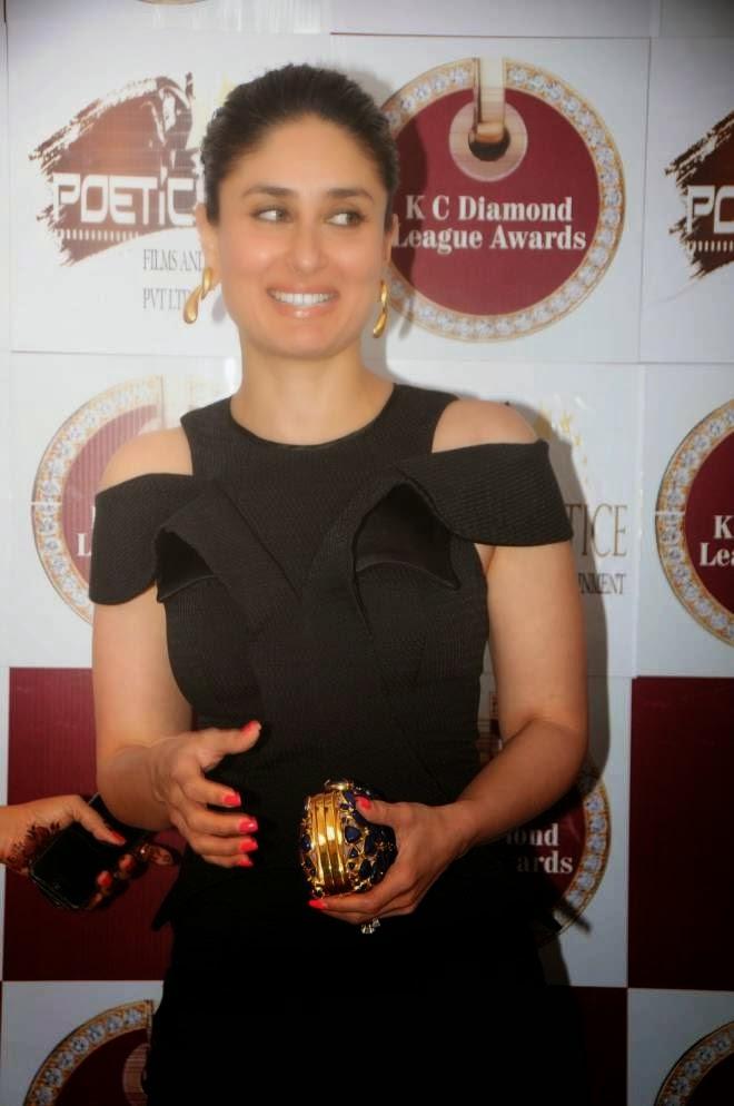 Kareena Kapoor Looks Sexy In Black Short Dress