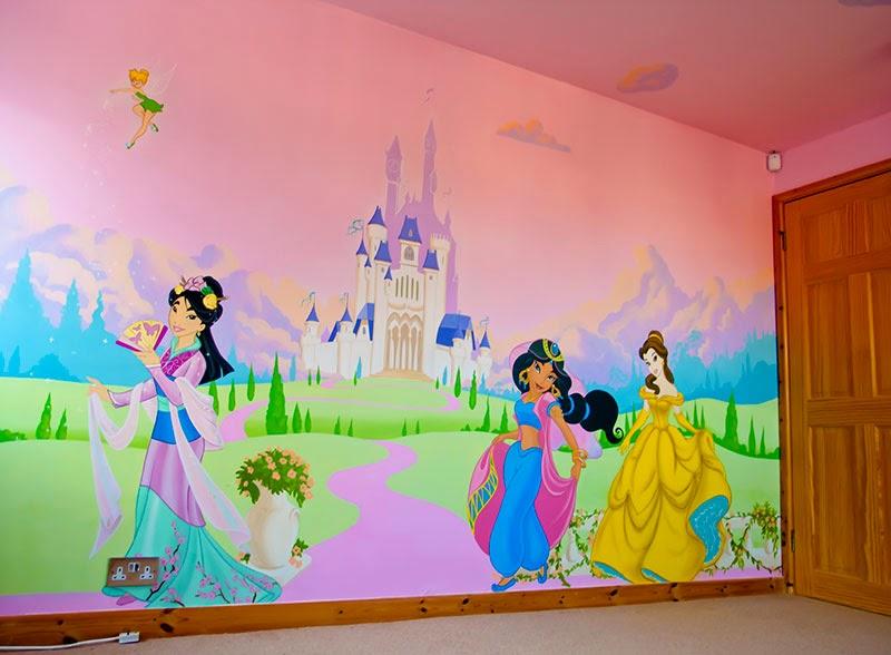 Francesca decorazioni la cameretta dei vostri sogni - Cameretta delle principesse ...