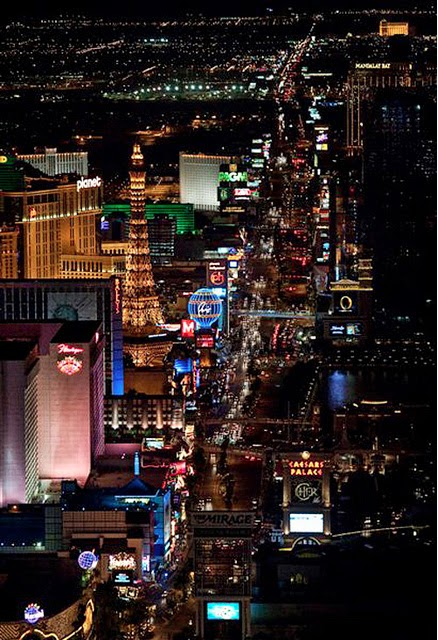 Labor Day in Las Vegas - the Strip at night