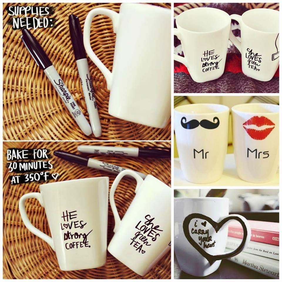 Hazlo Tú Mismo : Tazas personalizadas para San Valentin
