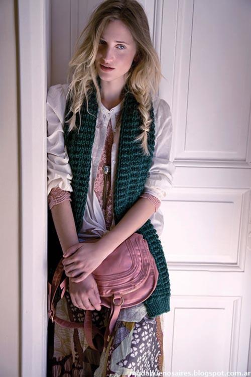 India Style chalecos moda invierno 2013