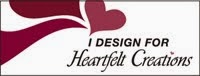 Proud to design for Heartfelt Creations