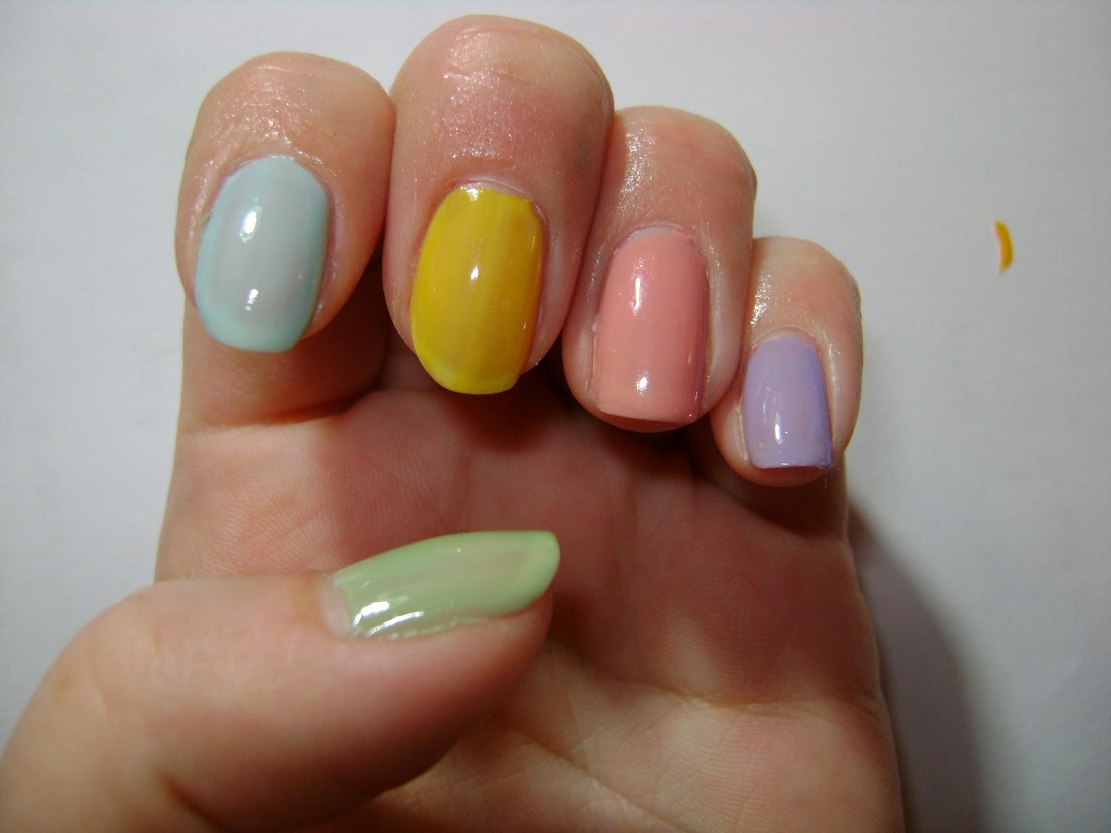 Easter nails - Adjusting Beauty